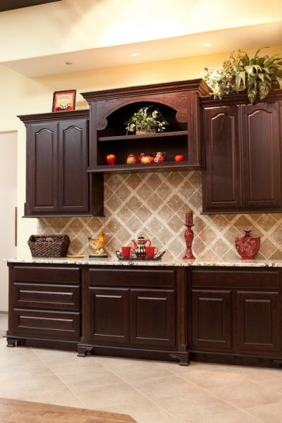 Kentmoore Maple Wood Golden Nutmeg Cabinets Katy