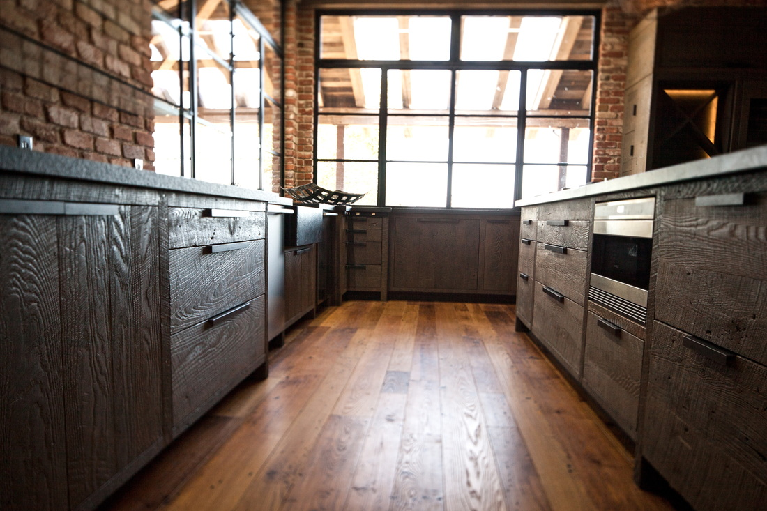 rustic kitchen wood enchanting cabinets reclaimed barns doors cabinet barn image